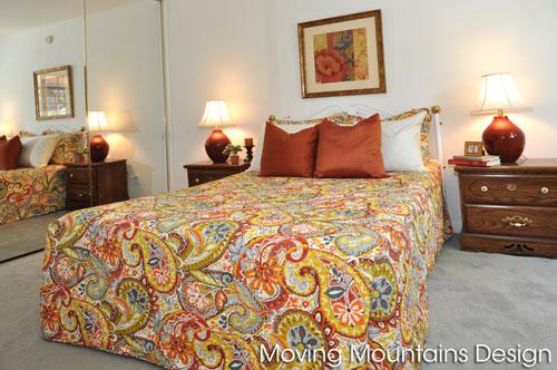 North Hollywood Condo Staging Bedroom transformation