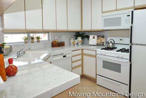 North Hollywood Condo Staging Kitchen transformation
