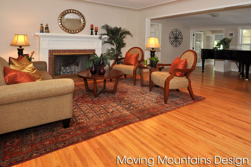 Home Staging San Gabriel Living Room Photo