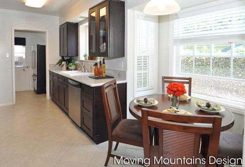 San Gabriel home staging kitchen photo