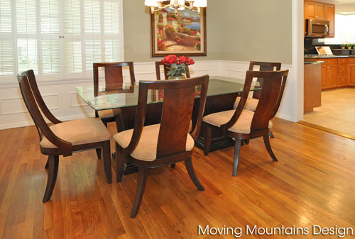 San Gabriel dining room