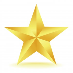 gold star for the best home stager