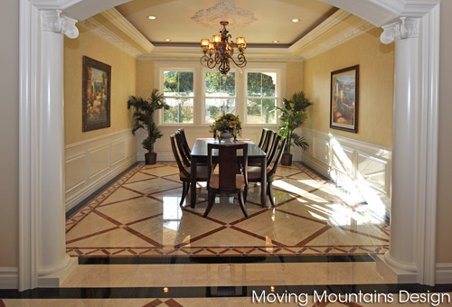 Dining Room in Arcadia Home After Home Staging