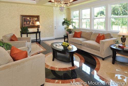 Arcadia Family Room After Home Staging