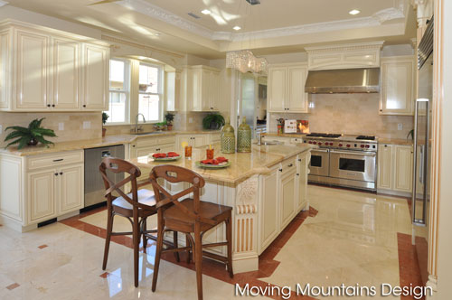 Arcadia Kitchen after home staging by Moving Mountains Design