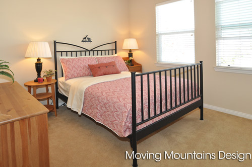 Rosemead Real Estate Staging Guest Bedroom