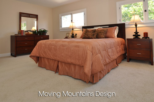 Altadena House Staging For A Real Estate Investor - Master Bedroom