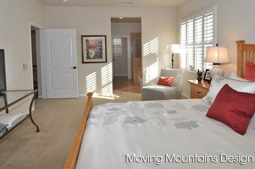 Rosemead Home Staging Master Bedroom
