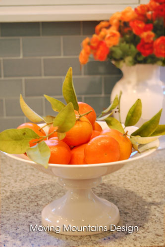 Lucky Tangerines and Good Energy Flowers Are Good Feng Shui