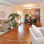 Whittier home staging for Real Estate Investors open floor plan