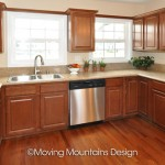 Whittier home staging for Real Estate Investors Kitchen with granite counters