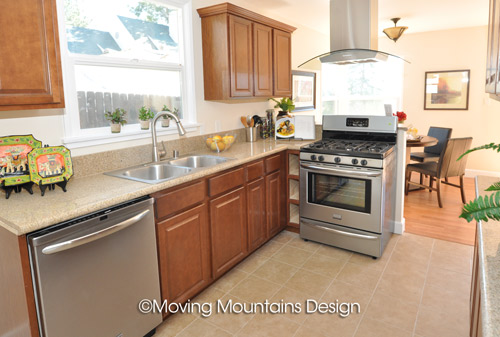 Home Staging La Crescenta Kitchen