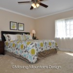 Whittier home staging for Real Estate Investors master bedroom