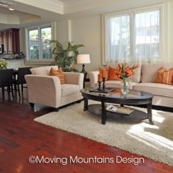 Model Home Staging Los Angeles Livingroom