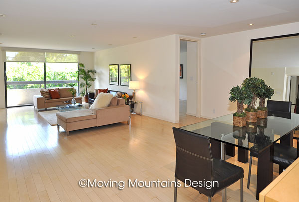 Contemporary Los Angeles Condo Home Staging