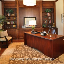 Arcadia home staging luxury office