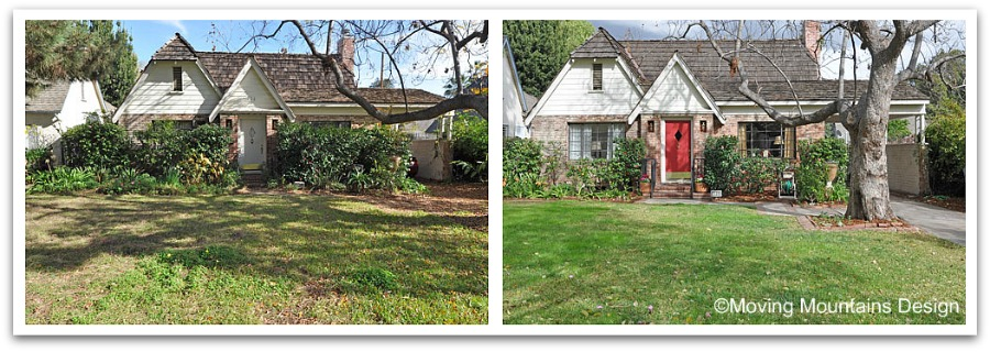 Pasadena Curb Appeal Before and After Photos