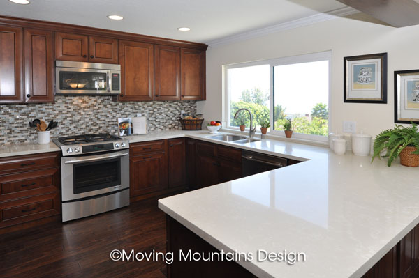 Kitchen Home Staging in San Clemente