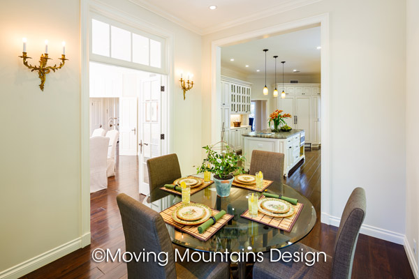 House Staging Beverly Hills Breakfast Room