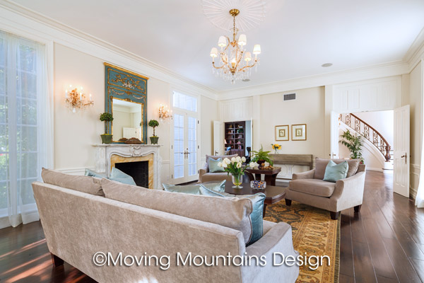 Home Staging Beverly Hills Formal Living Room