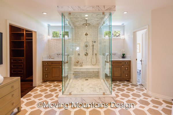 Beverly Hills Home Staging Luxury Master Bath