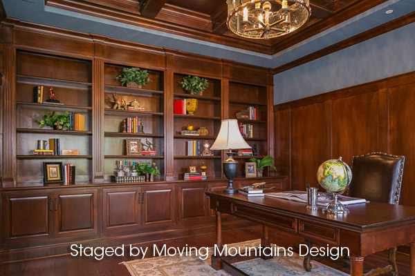 Arcadia Builder Home Staging office