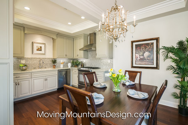 Arcadia Condo Home Staging Kitchen