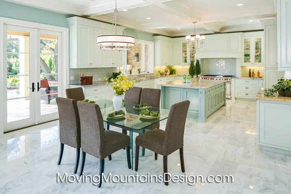 House staging Arcadia luxury estate kitchen