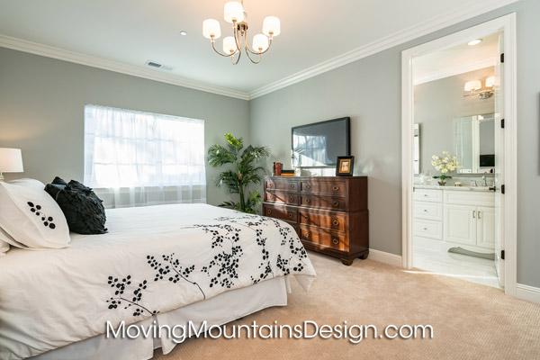 Arcadia Condo Staging Master Bedroom