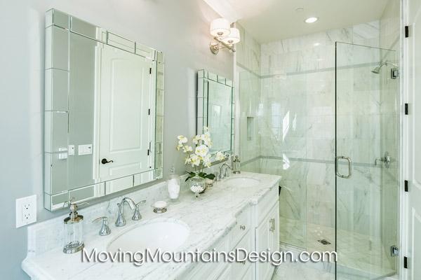 Arcadia Condo Home Staging Master Bathroom