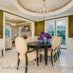 Elegant Formal Dining Room Home Staging in Arcadia