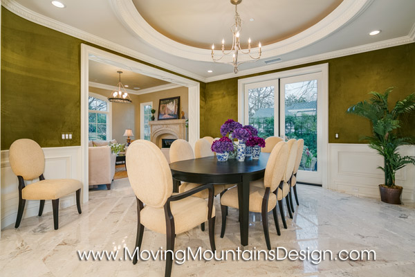 Elegant Formal Dining Room Home Staging in Arcadia