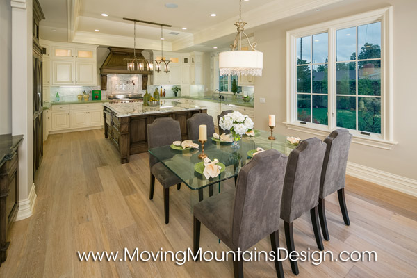 Kitchen Dining Area Home Staging Arcadia