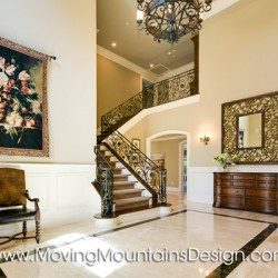 Arcadia Luxury Builder Home Staging Entry