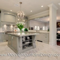 Luxury Kitchen Model Home Staging in Arcadia