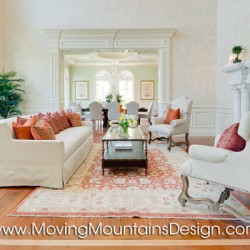 Luxury Home Staging Arcadia Living Room