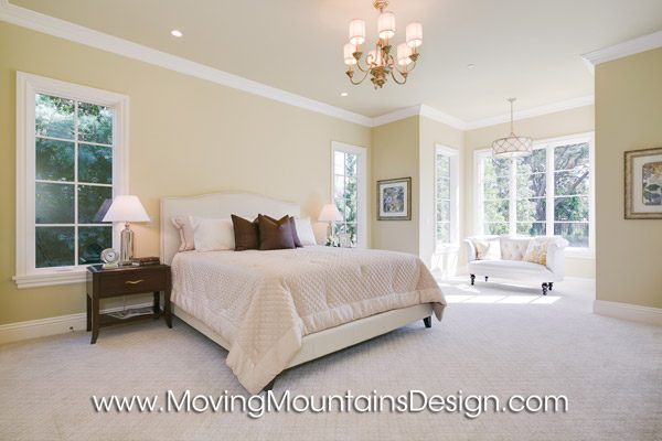 Beautiful Arcadia Home Staging Guest bedroom