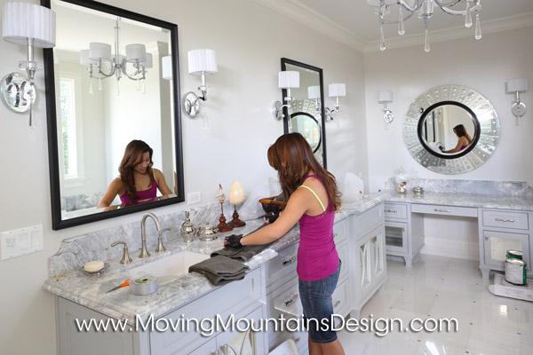 Luxury Bathroom Staging
