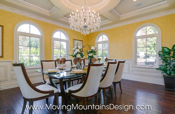 Formal Dining Room Home Staging Arcadia CA