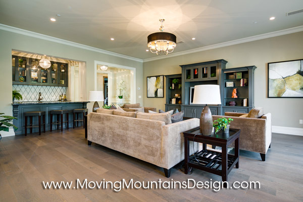 Contemporary Luxury Home Staging Arcadia Family Room 2