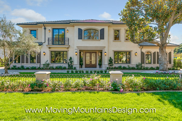 Arcadia Luxury Home Staging Exterior