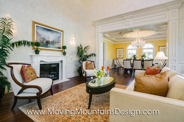 Arcadia Luxury Home Staging Living Room