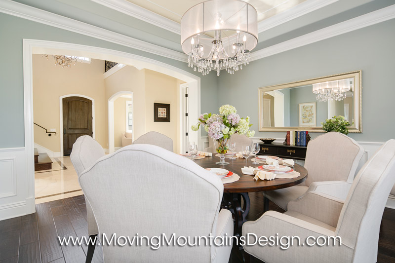 Arcadia Dining Room Home Staging