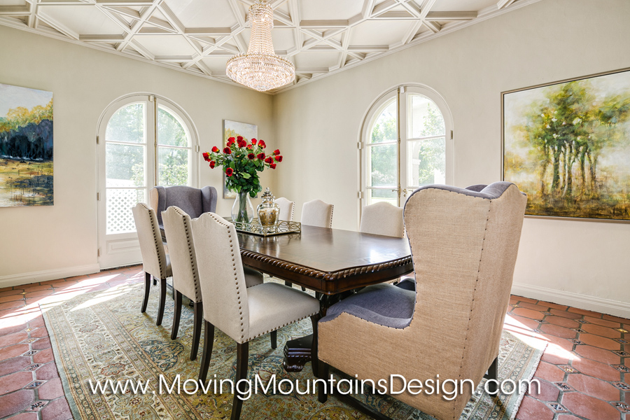 Luxury Dining Room Home Staging
