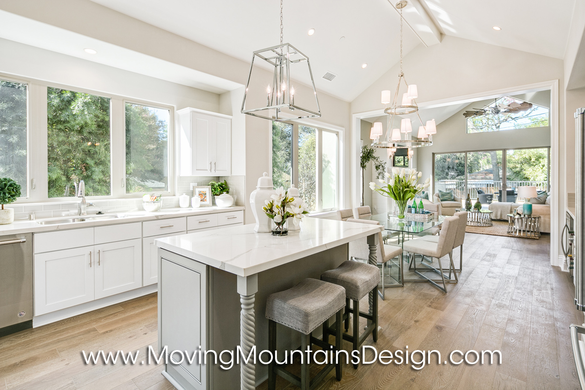 Monrovia New Construction Home Staging