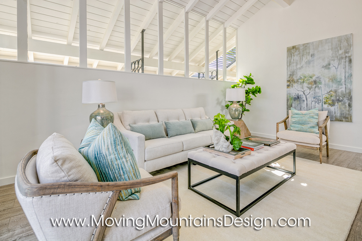 Pasadena Home Staging Living Room