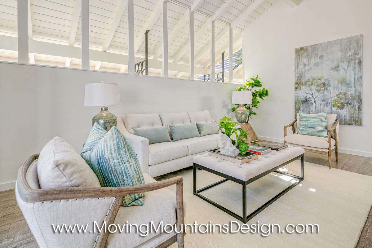 Pasadena Home Staging Living Room