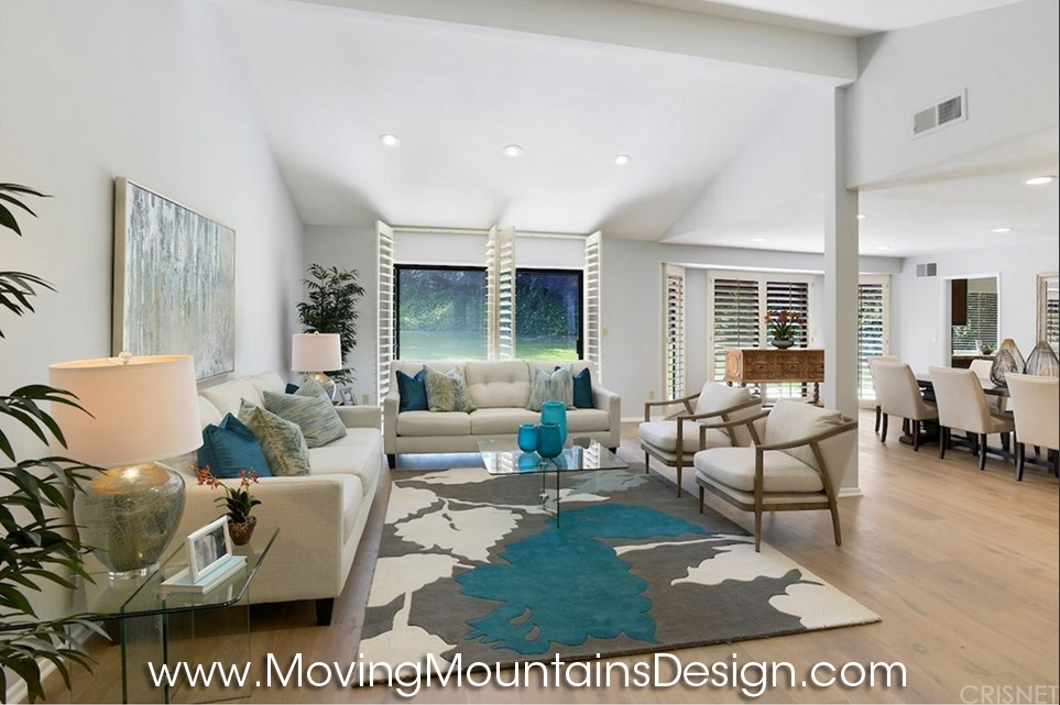 Lake Encino Living_Room home staging