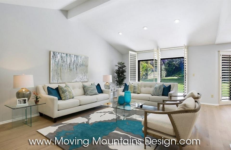 Spectacular Mid-Century Lake Encino Living Room