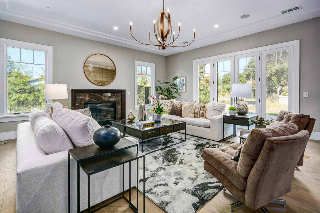 luxury home staging arcadia